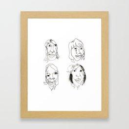 ABBA Framed Art Print