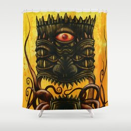 LovecrafTiki Shower Curtain