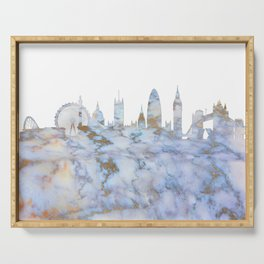 London Skyline Great Britain Serving Tray