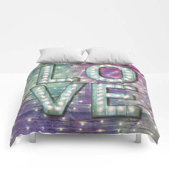 Love is the Light of Your Soul (LOVE lights III) Comforters