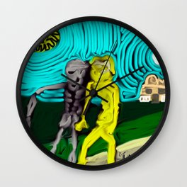 Guided by death Wall Clock