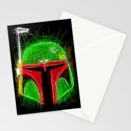 Sketchy Boba Stationery Cards