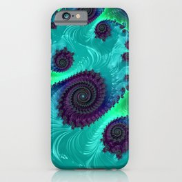 Berry Lime Twist - Fractal Art iPhone Case