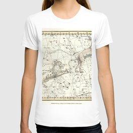 Celestial Atlas Plate 5 Alexander Jamieson, Leo Minor, Lynx T-shirt