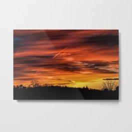 Marion, NC Sunset Metal Print