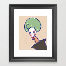 My place Framed Art Print
