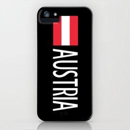 Austria: Austrian Flag & Austria iPhone Case
