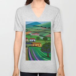 Santa Barbara Farms Unisex V-Neck