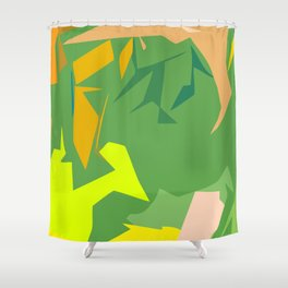 Always Greener Shower Curtain