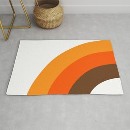 Harvest Rainbow - Left Side Rug