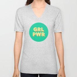 Girls Power no2 Unisex V-Neck