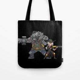 ashe and bob Tote Bag