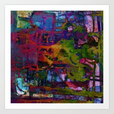 colors fusion Art Print
