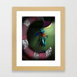 Moon Conqueror Framed Art Print