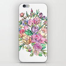 Floral Geometry iPhone & iPod Skin