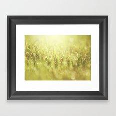 That Morning Thing Framed Art Print