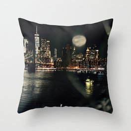 Caged views Throw Pillow