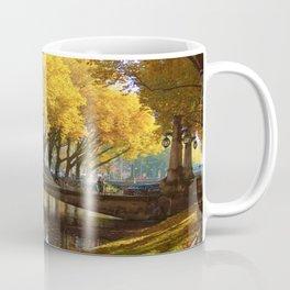 Duesseldorf Koe, Koegraben in golden light Coffee Mug
