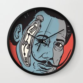 Dali Time Wall Clock