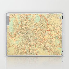 Rome Map Retro Laptop & iPad Skin