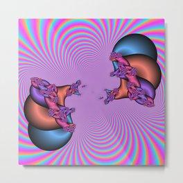 Blinding Illusion Metal Print