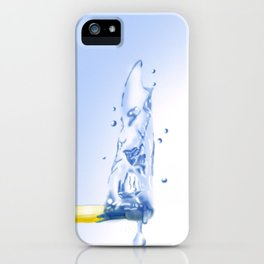 Water matchstick iPhone Case