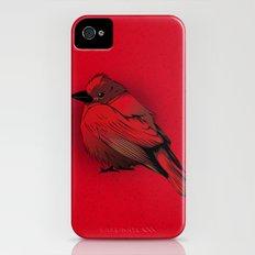 Little Red Bird iPhone (4, 4s) Slim Case