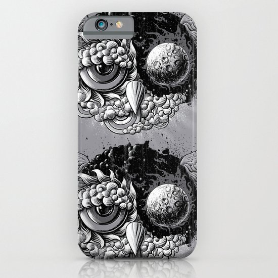Owl Day & Owl Night iPhone & iPod Case