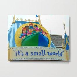 It's a Small World Metal Print