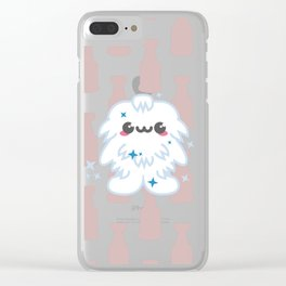 Yeti Nother Reason Clear iPhone Case