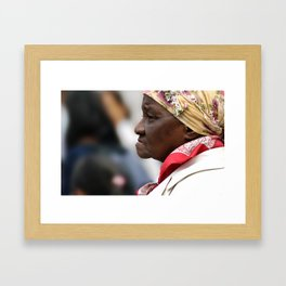 On The Streets Framed Art Print