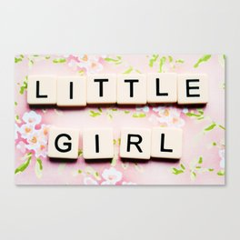 Pink for Girls Canvas Print