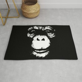 Everything's More Fun With Monkeys! Rug