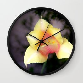The First Bloom Wall Clock