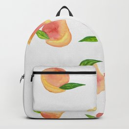 Fun Watercolor Peaches Backpack