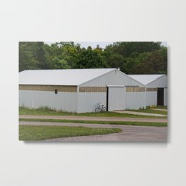The Back Buildings Metal Print
