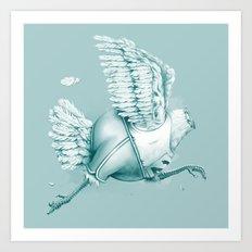 Olimpic Chicken Art Print