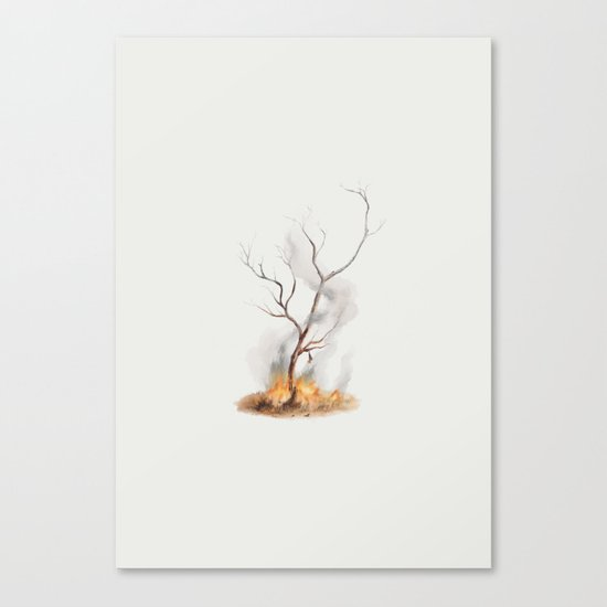 Snared Canvas Print