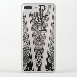 Ohm Clear iPhone Case