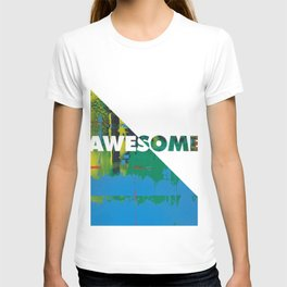 Color Chrome - Awesome graphic T-shirt