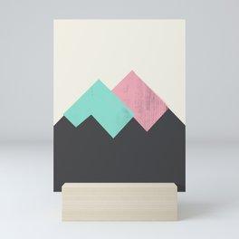 Pastel Mountains I Mini Art Print