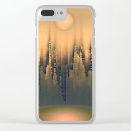 Reversible Space III Clear iPhone Case
