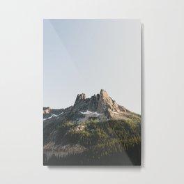 North Cascades Sunset Metal Print