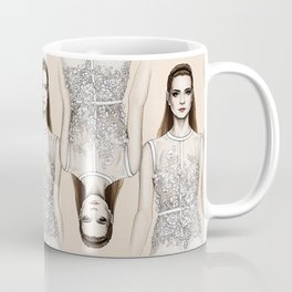 Elie Saab SS14 - fashion illustration Coffee Mug