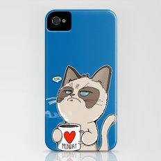 Grumpy's Mid-week Blues Slim Case iPhone (4, 4s)