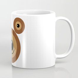 Funny bear face Coffee Mug