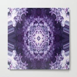 Encased in Purple.... Metal Print