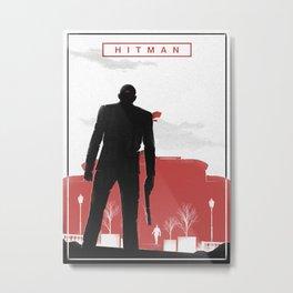 Hitman Metal Print