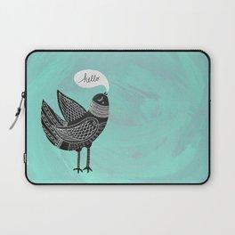 Hello Bird Laptop Sleeve