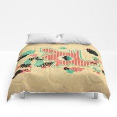 Dragon Playground Comforters